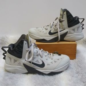 Nike Zoom Hyperfuse 2013 white and grey shoes 11